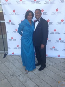 Darrell & Susan at the American Heart Stroke Ball Disney Concert Hall