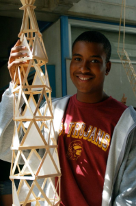 Justin at Architecture Camp
