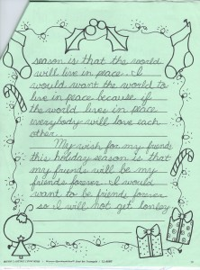 Justin's Holiday Wishes Page 3