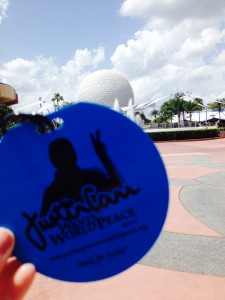 JCWWP TAG  EPCOT WALT DISNEY WORLD