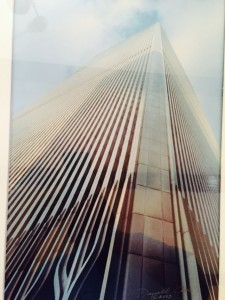 Darrell Carr's Photo of one of the towers at the World Trade Center