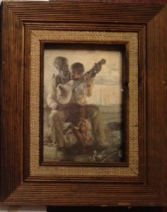 "Henry Tanner's ""Banjo Player"""