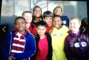 Justin's Friends from Elementary School