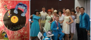 "Justin Dared to Dream and the H-W ""Hairspray"" Cast Lived out his Dream"
